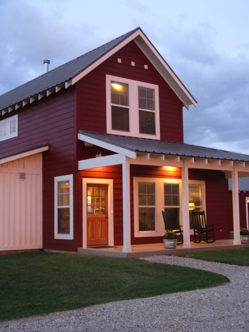 Barn home pole style house plans photos of the where for Steel barn homes