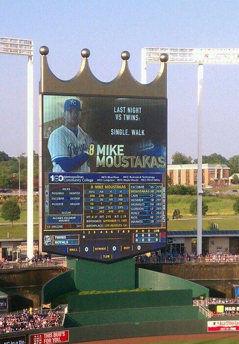 Mike Moustakas Eric Hosmer Hosmer Royals Baseball