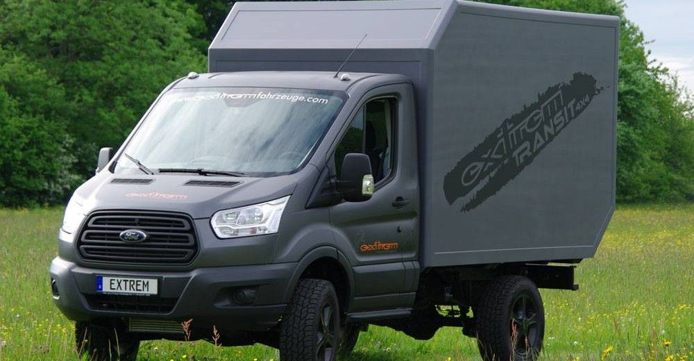 extrem der neue ford transit 4x4 explorer magazin. Black Bedroom Furniture Sets. Home Design Ideas