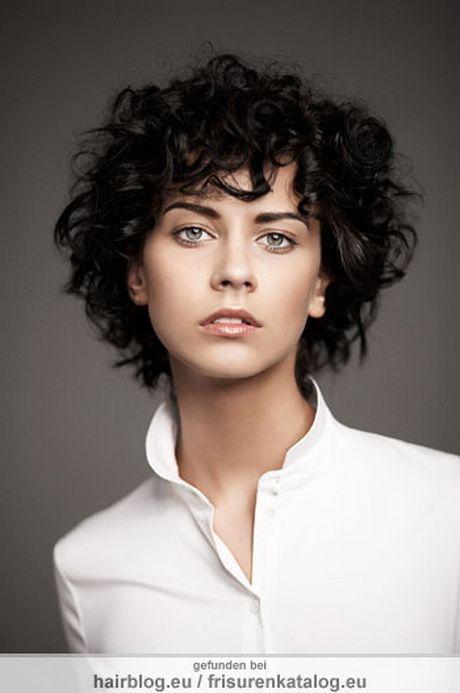 Frisuren Für Locken Frisuren Pinterest Lockige Haare Kurze