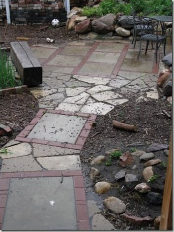 Find A Jumble Of Mismatched Garden Stones To Lay Down