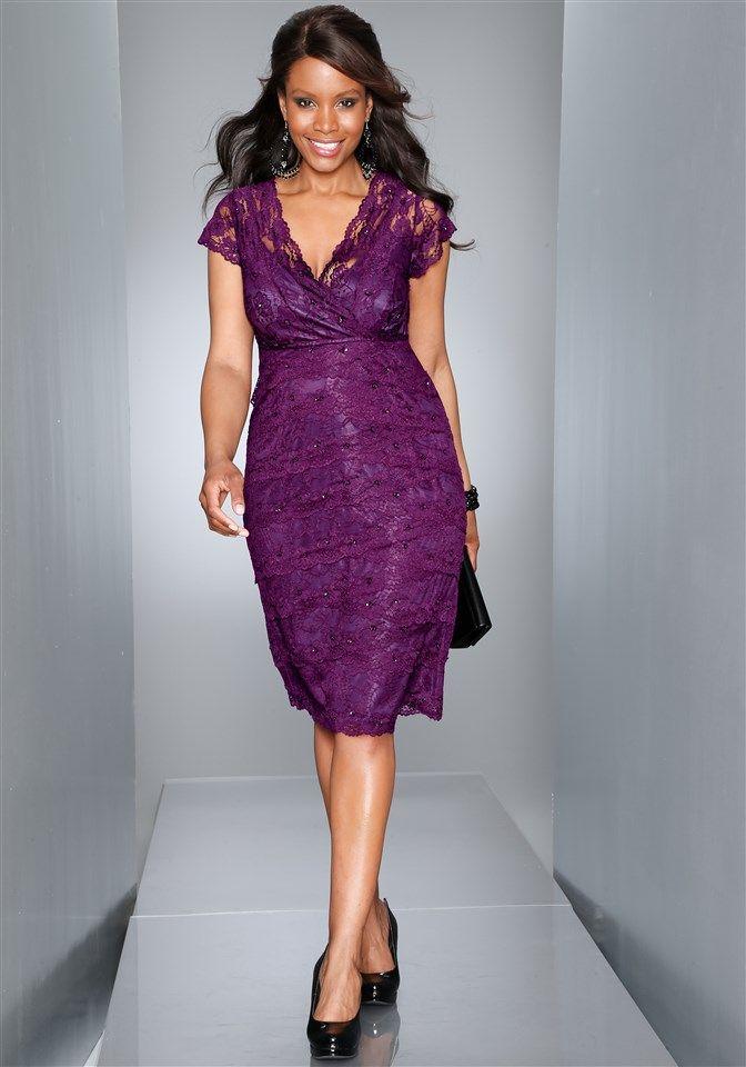 Plus Size Cocktail Dress from Sheego.de | dresses | Pinterest | La ...