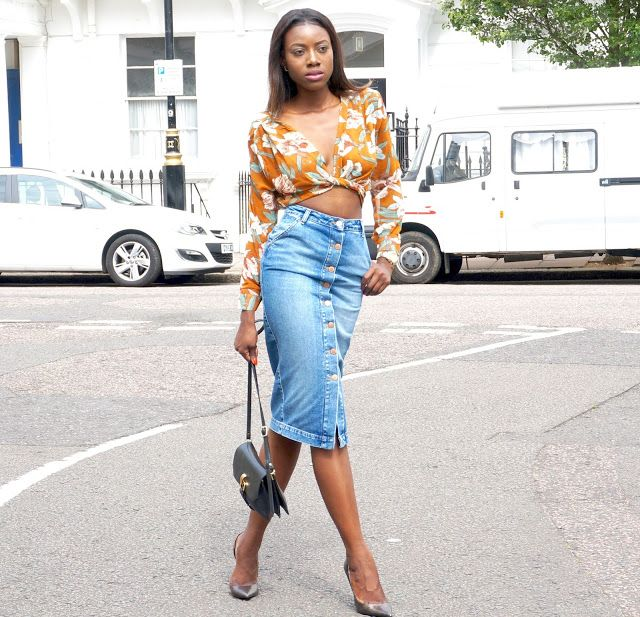 Floral prints & denim fix #streetstyle #fashion #fashionblogger #blogger #fashion #summerstyle #style