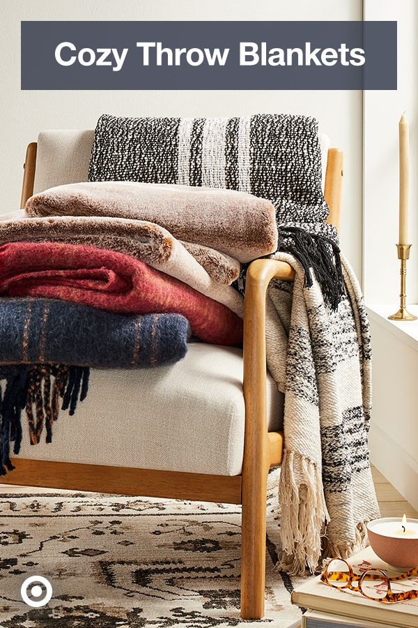 Find Warm Amp Cozy Throw Blankets From Snuggly Chunky Knits