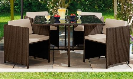 Cubic Siena Rattan Set in Choice of Colour for £250 or ...