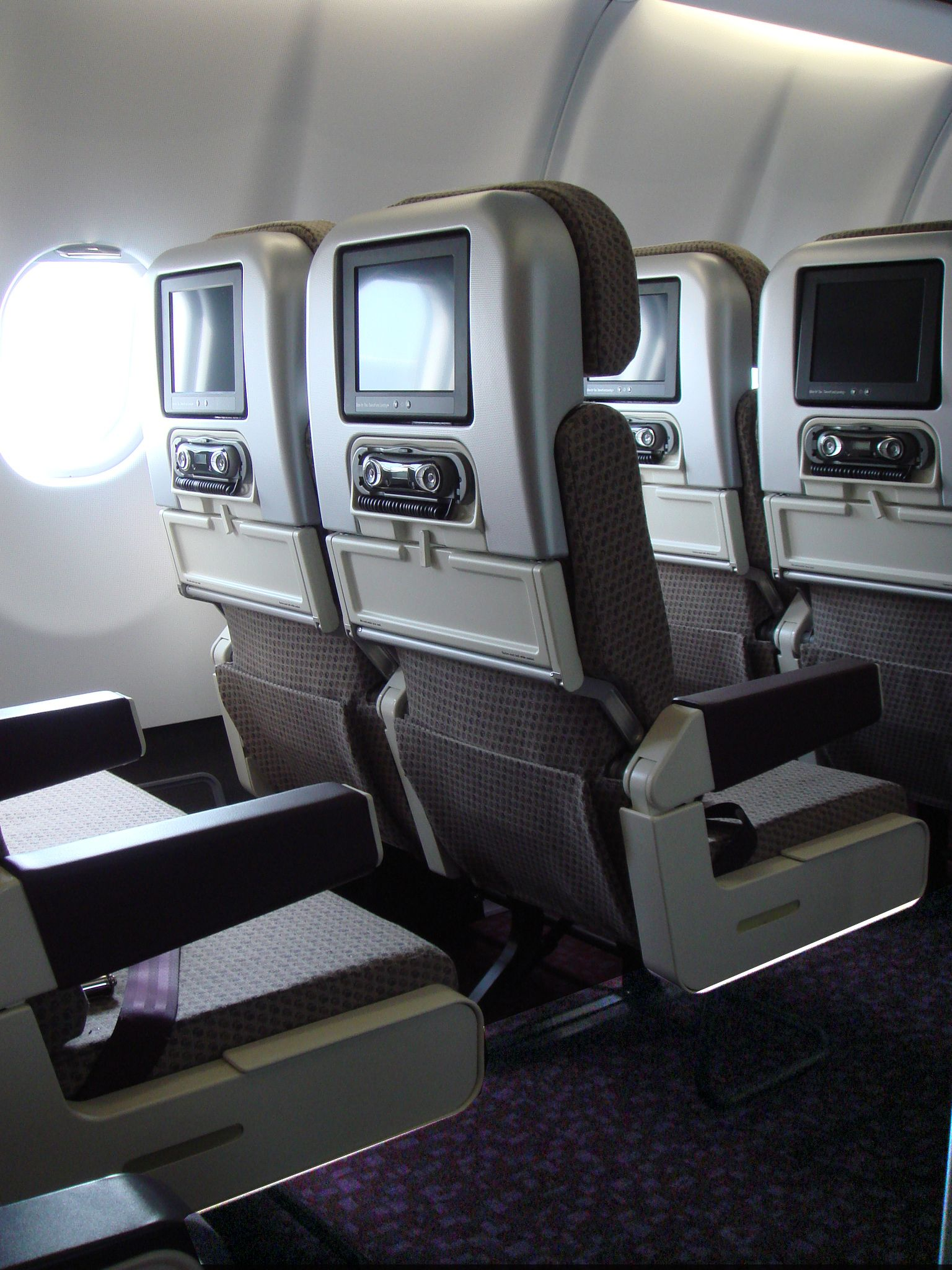 Virgin atlantic airways economy seats design for International seating and decor