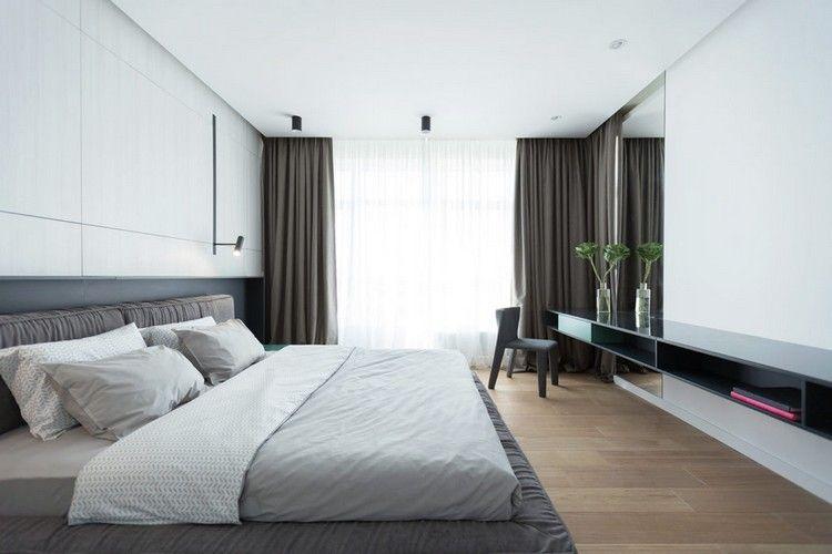 chambre coucher moderne 80 ides inspirantes qui vous enchanteront - Couleur De Chambre A Coucher Moderne