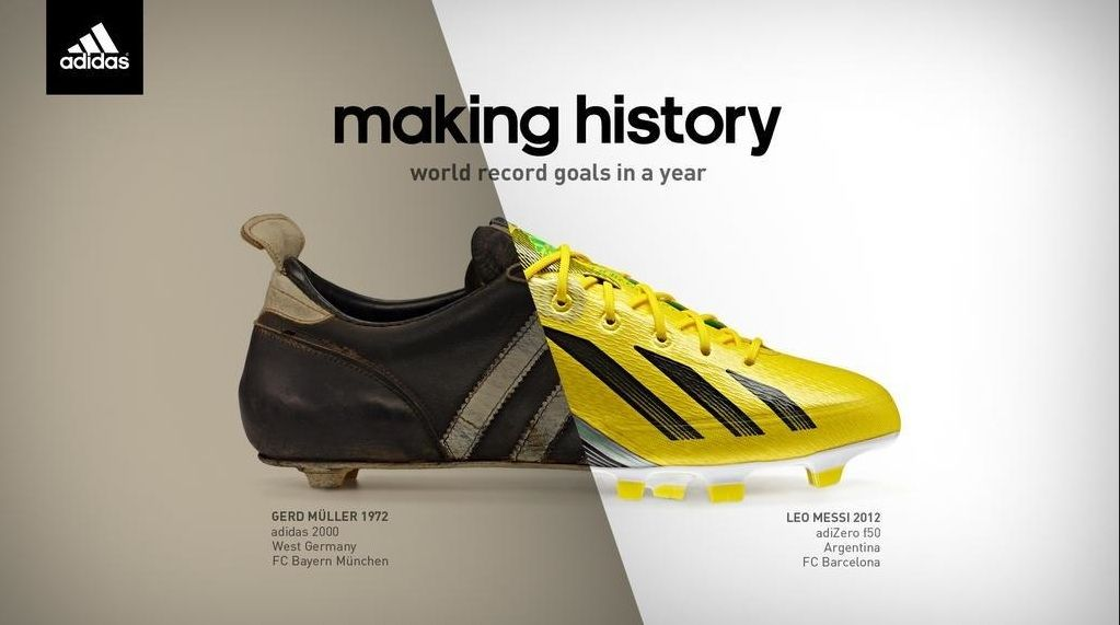 Adidas Releases Ad To Celebrate Barcelonas Lionel Messi Breaking