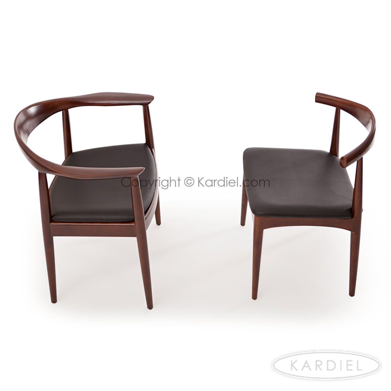 president office chair black. Wegner President Chair, Black Leather/Dark Ash Office Chair -