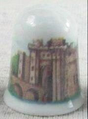 """Coalport Thimbles- Castles """"Herstmonceaux"""""""