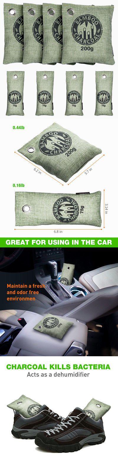 Air Fresheners 166724 8X Air Purifying Freshener Bamboo