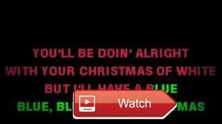 elvis presley blue christmas z karaoke - Blue Christmas Karaoke