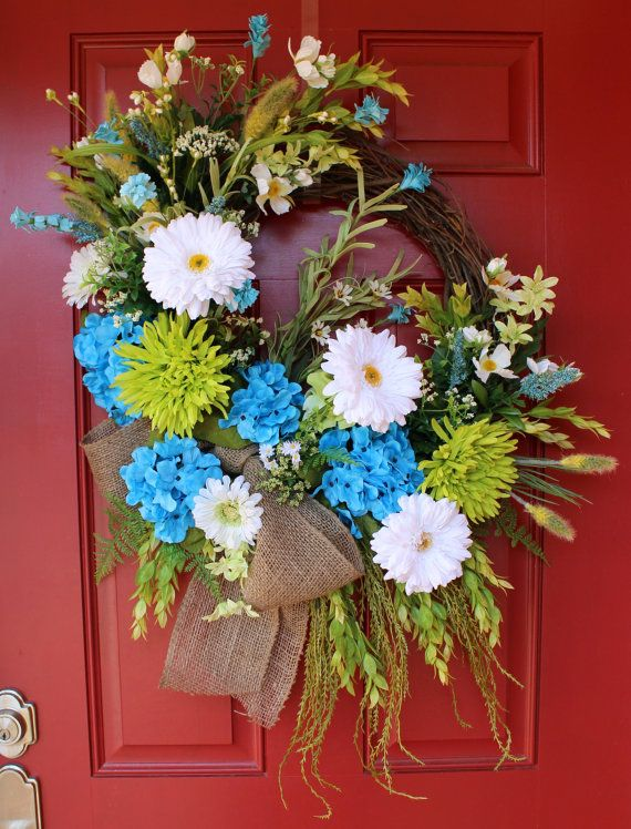 doors door dp wreath rustic wreaths com driftwood amazon coastal quot natural front nautical