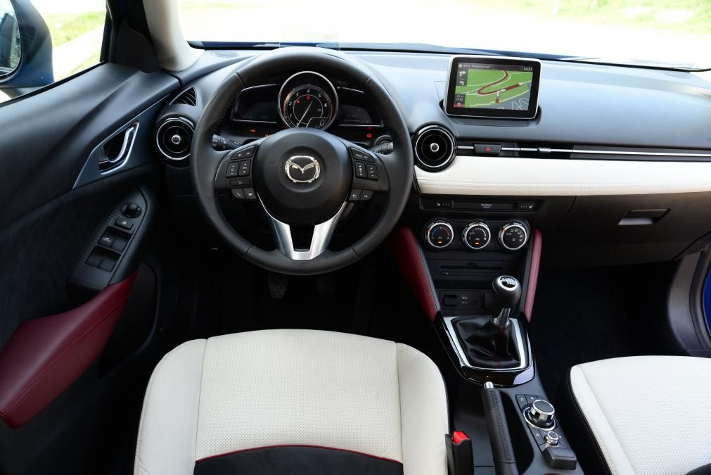 Mazda CX3 interior Mazda
