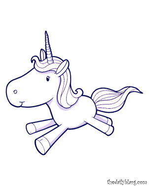 unicorn coloring pages cute baby unicorn cute baby unicorn cute