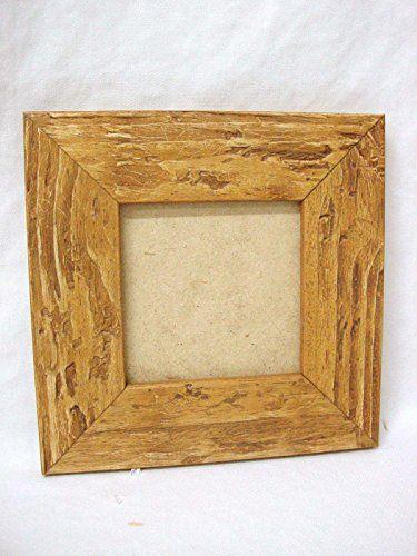 Moldura marco para cuadro antigua peque a miel 0 decoraci n cuadros - Marcos para cuadros grandes ...