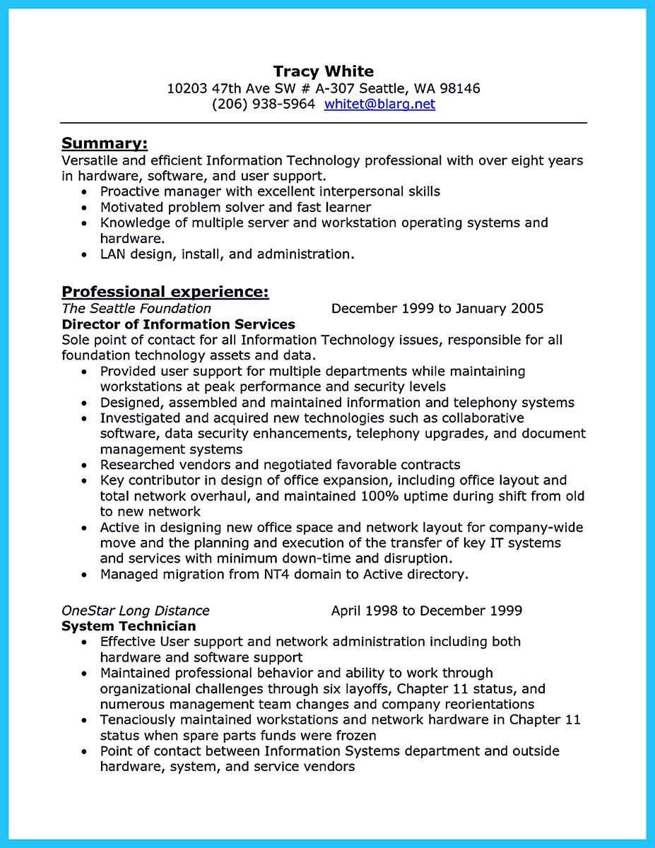 Are you trying to make the best cable technician resume ever? If so ...