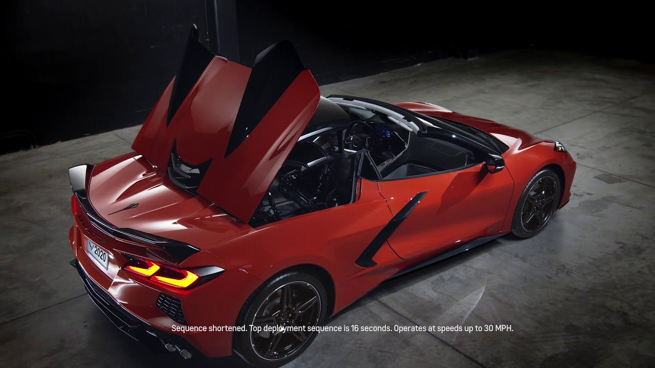 2020 Chevrolet Corvette Retractable Hardtop Chevrolet Canada Youtube In 2020 Chevrolet Corvette Corvette Chevrolet