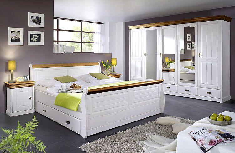 Schlafzimmer Pinie ~ Billig schlafzimmer landhausstil weiß deutsche deko