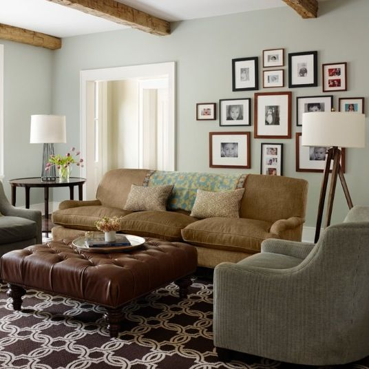 Design 101 Creating A Focal Point Brown Couch Living