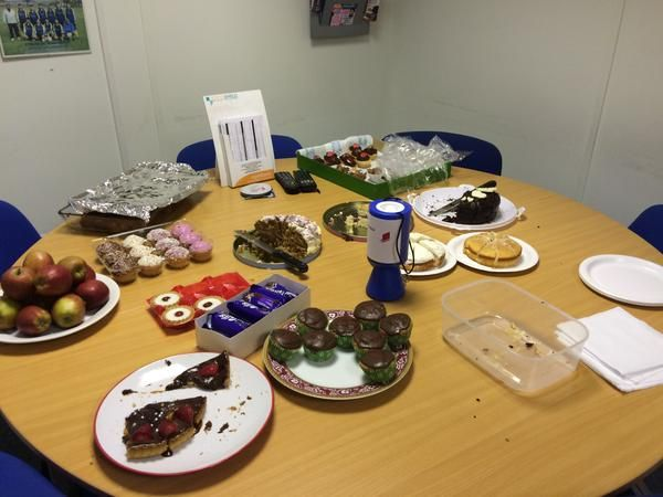 Strategic Team Group's bake sale - what's left of it anyway!