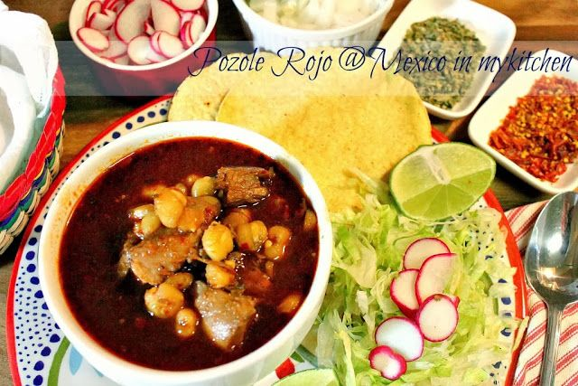 How To Make Red Pozole Recipe Mexican Food Recipes Pozole