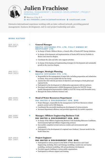 Resume Examples General Manager Manager Resume Resume Sample Resume