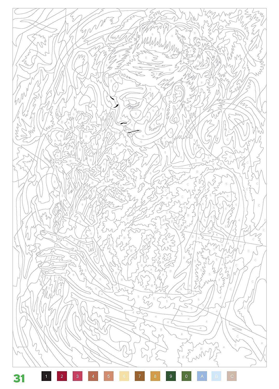 Coloriages myst res 100 nouveaux coloriages for Pinterest malen