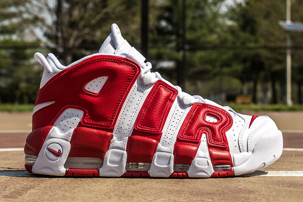 2016 Nike Air More Really Cool Uptempo Gym Red OG Best Mens/womens 414962 London 100