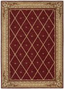 The Ashton House Collection features a striking assortment of European-inspired decorative motifs. Runner lengths over 8' are serged and do not have end borders.