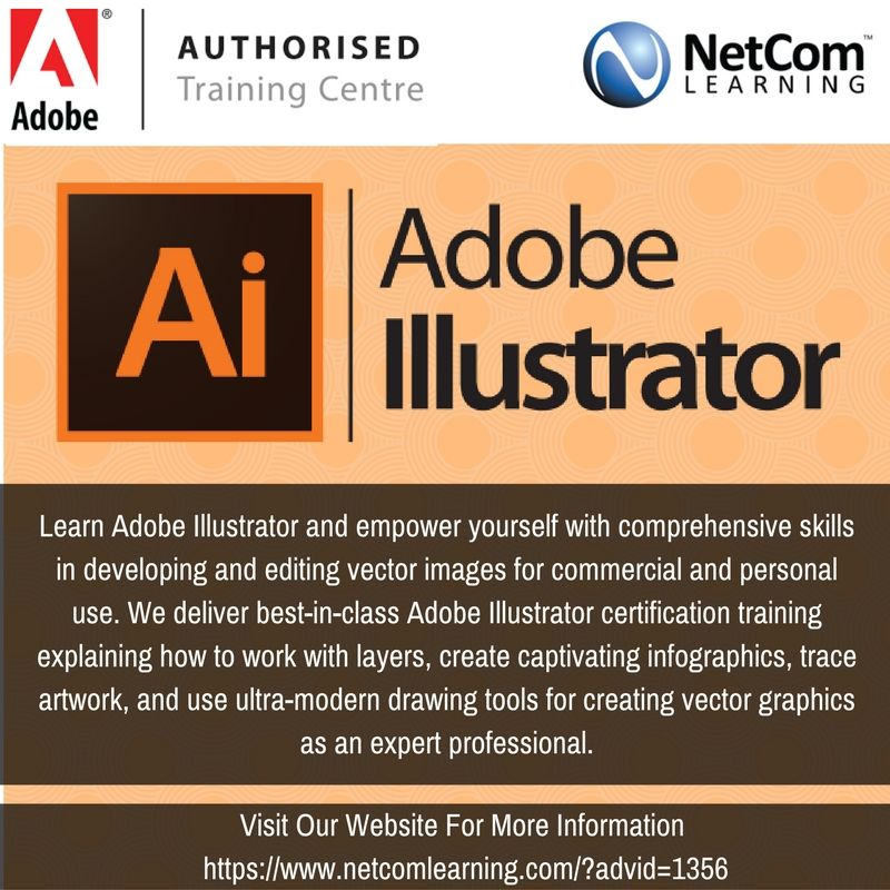 How To Become Certified By Adobe Using Illustrator Learn With Netcom