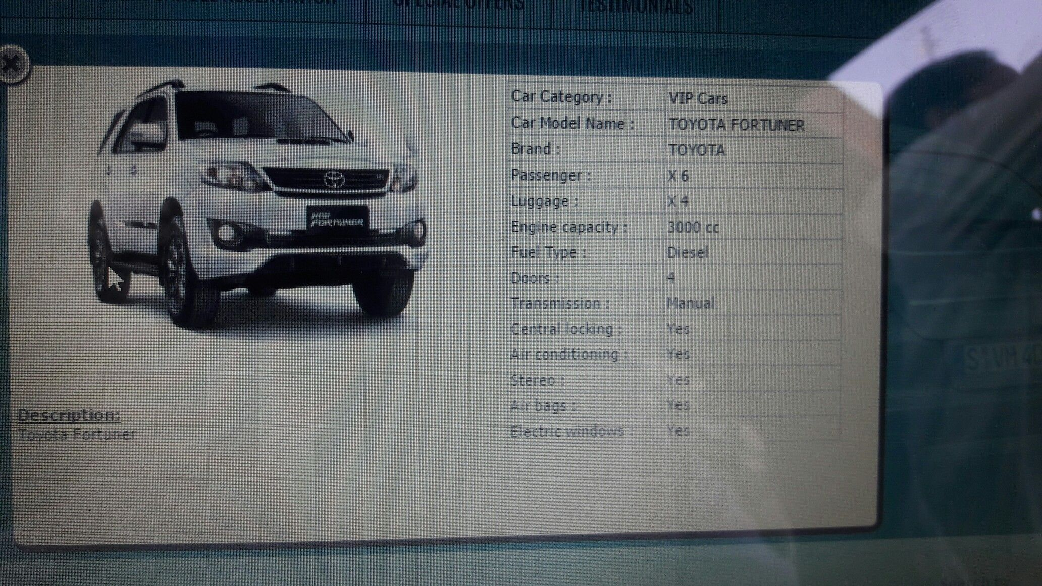 fortuner hire in chandigarh