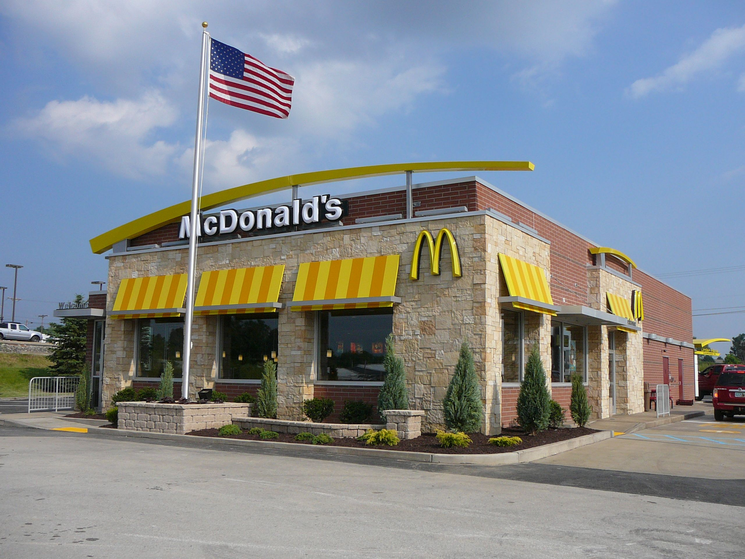 Image result for mcdonalds different 2000s