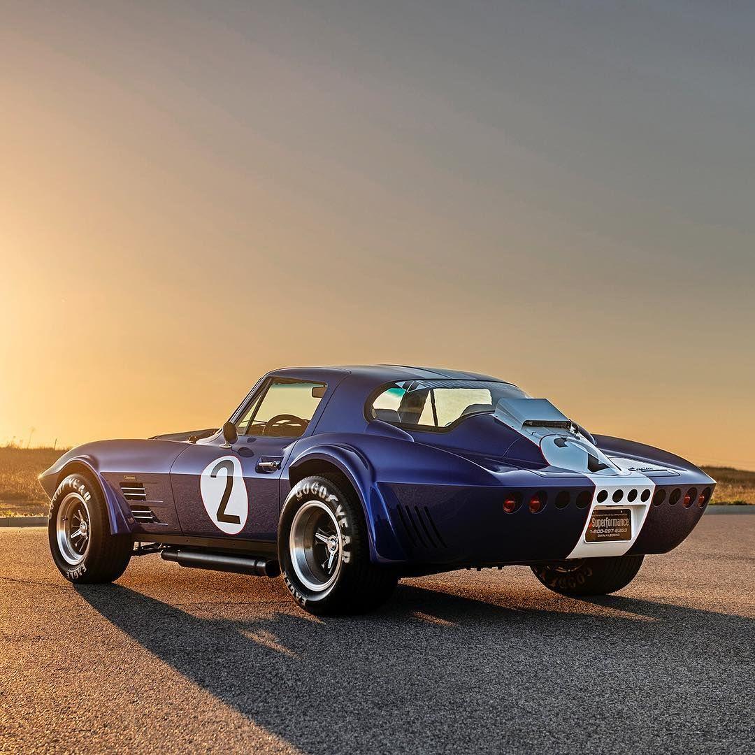 Superformance Corvette Grand Sport photographed for