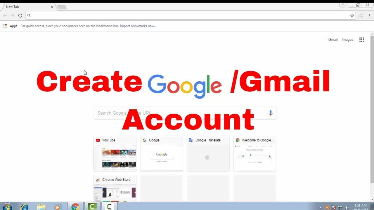 new google account