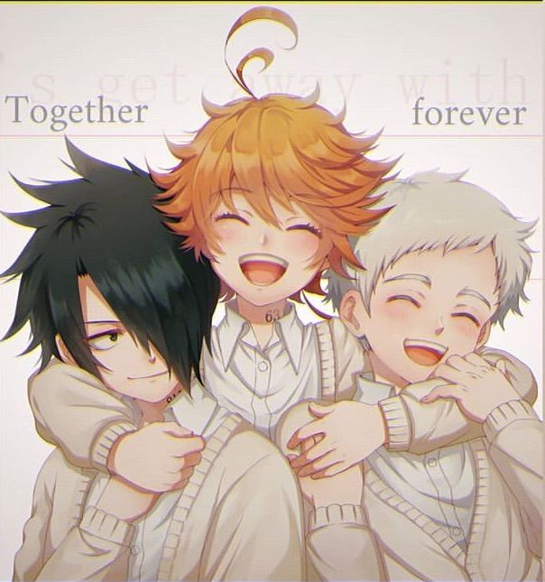 Image about cute in The Promised Neverland 💙 by ~ Mira ~ ♥️