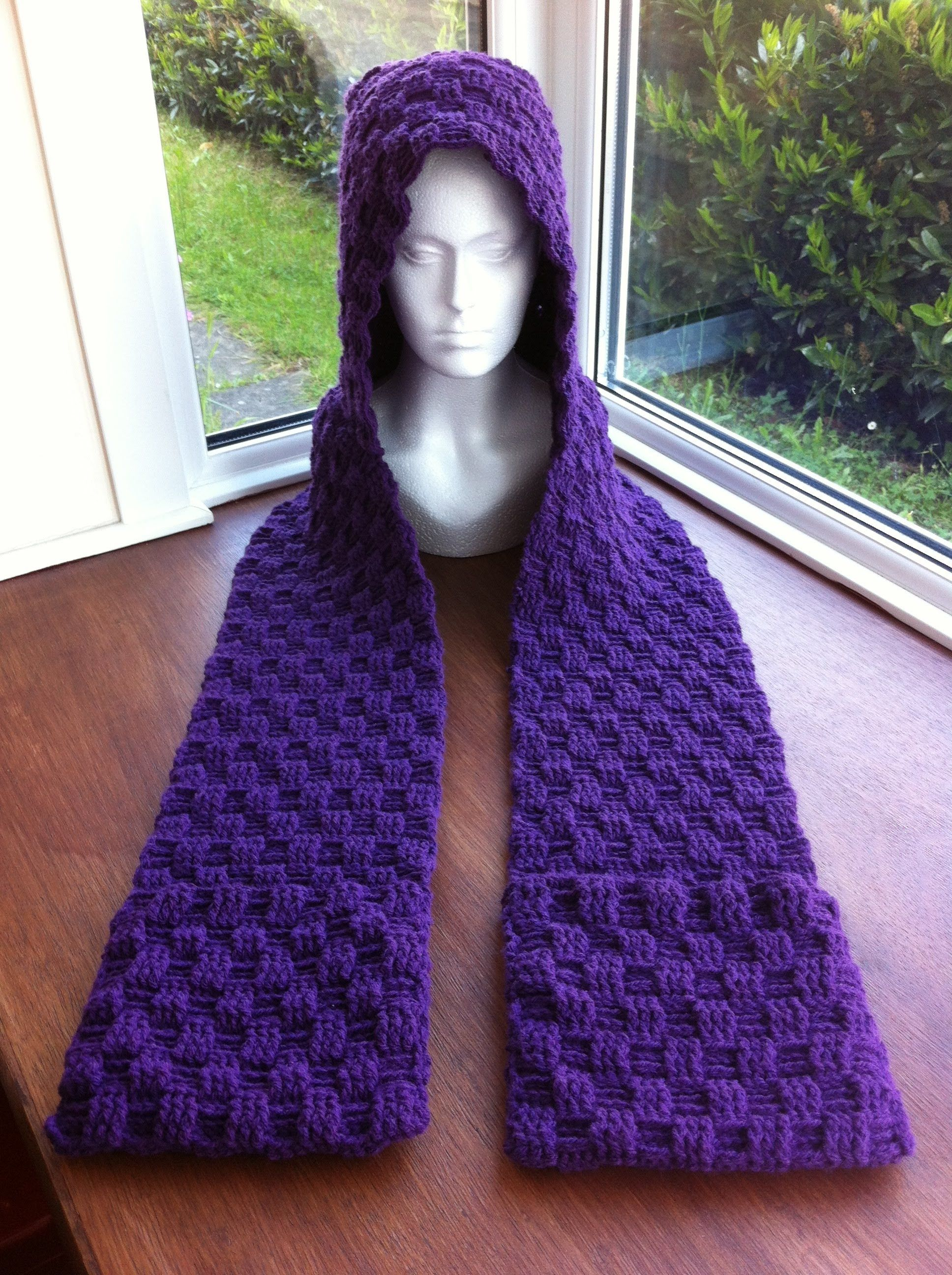 How To Make A Crochet Scoodie | lindo crochet | Pinterest | Gorros ...
