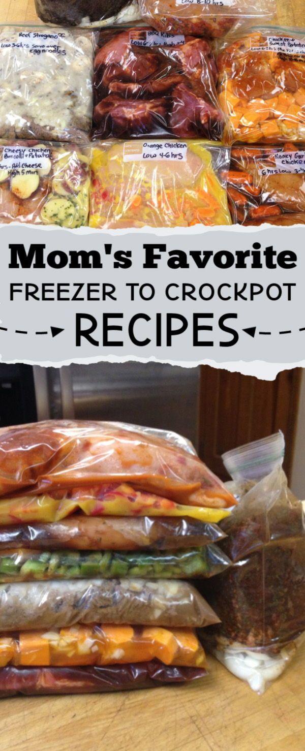 30 Crockpot Freezer Meals #crockpotmealprep