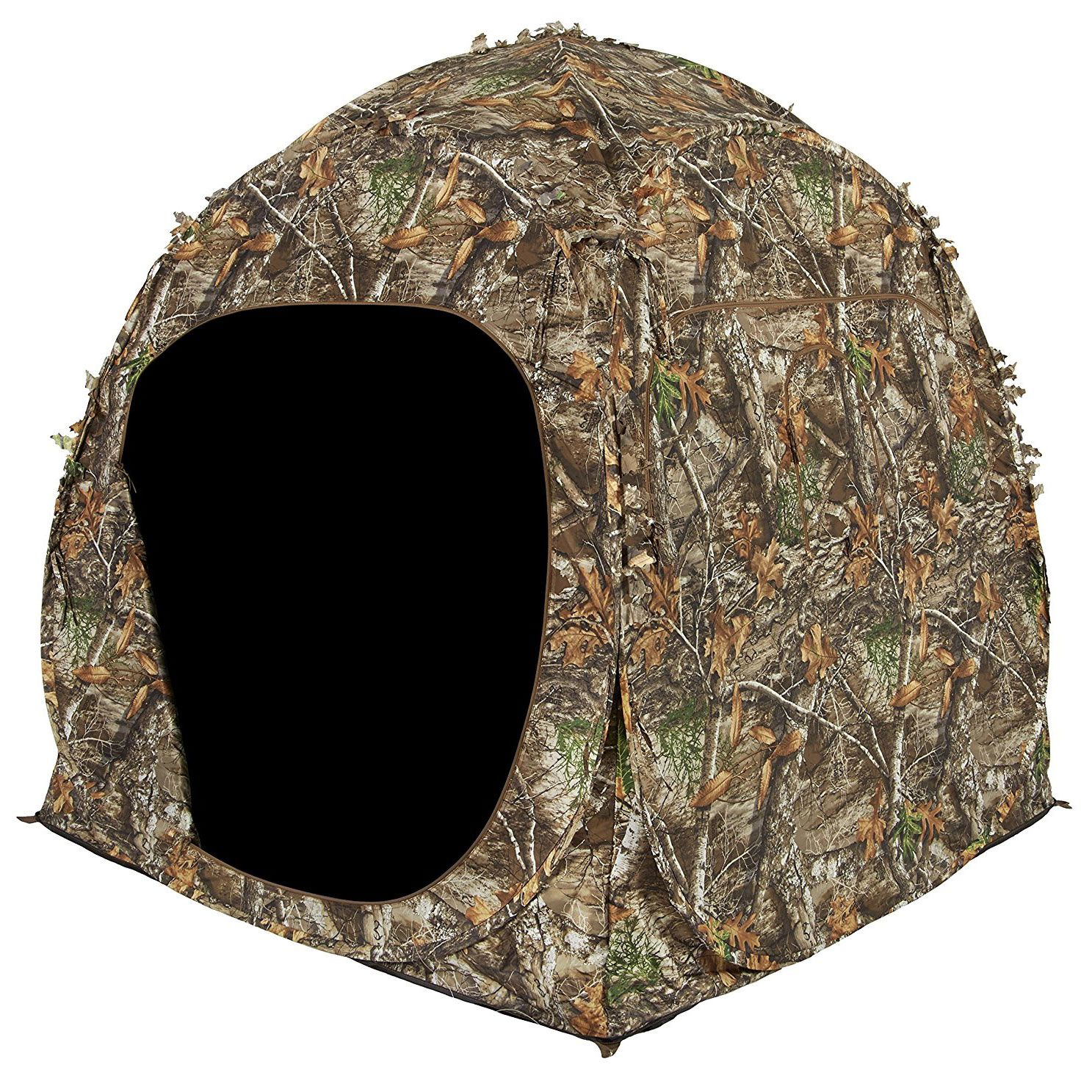 Ameristep 2 Person Shadow Guard Durashell Plus Doghouse Ground Blind Camouflage Shadow Guard Ameristep Ground Blinds Hunting Ground Blinds Dog Houses