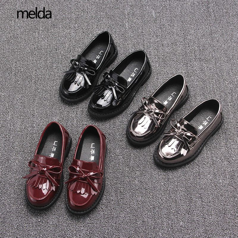 High Quality Kids Shoes For Girl Loafers Shoes Autumn Children