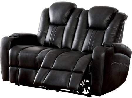 Furniture Of America Shafer Contemporary Loveseat Recliner Dark Gray Muebles De Sala Modernos Muebles Sala Muebles