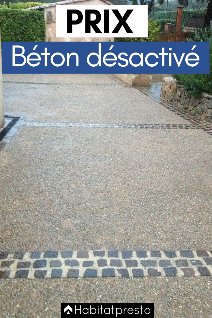 Dalle Beton Parking Herbe prix du béton désactivé au m² : calculez votre budget