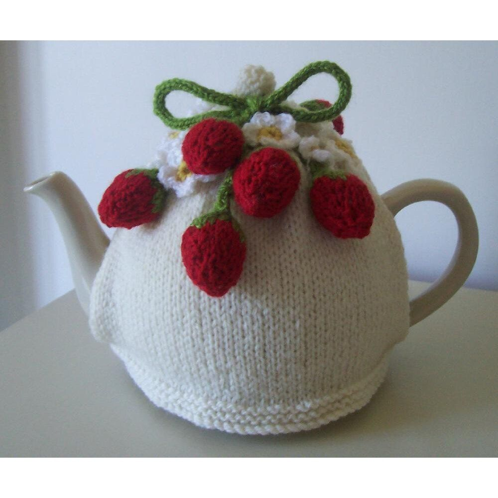Strawberry Fields Tea Cosy