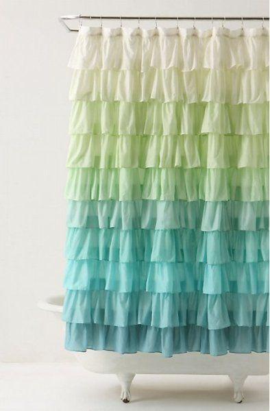 Amazing shower curtain