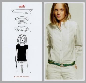 Comment porter le foulard    Mode   Pinterest   Hermes, Scarf knots ... b7aceffeedf