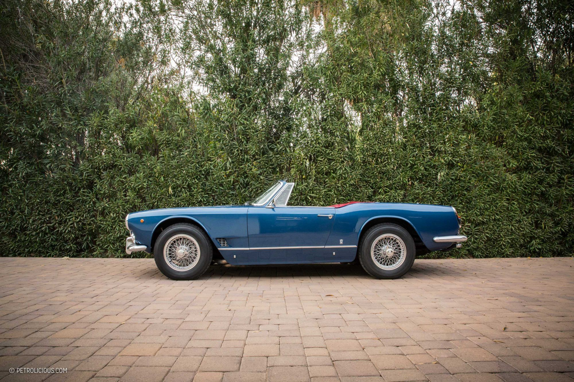 GALLERY: This 1960 Maserati 3500 GT Spyder Vignale Is A ...