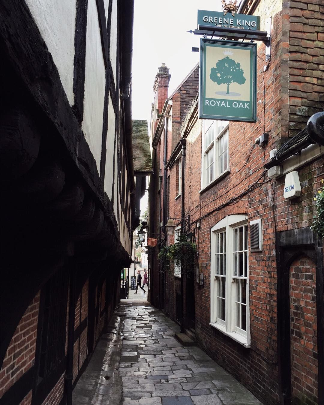 Okay So The Royal Oak Claims To Be The Oldest Pub In England