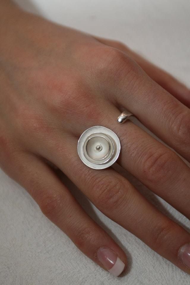Quite funny silver ring!
