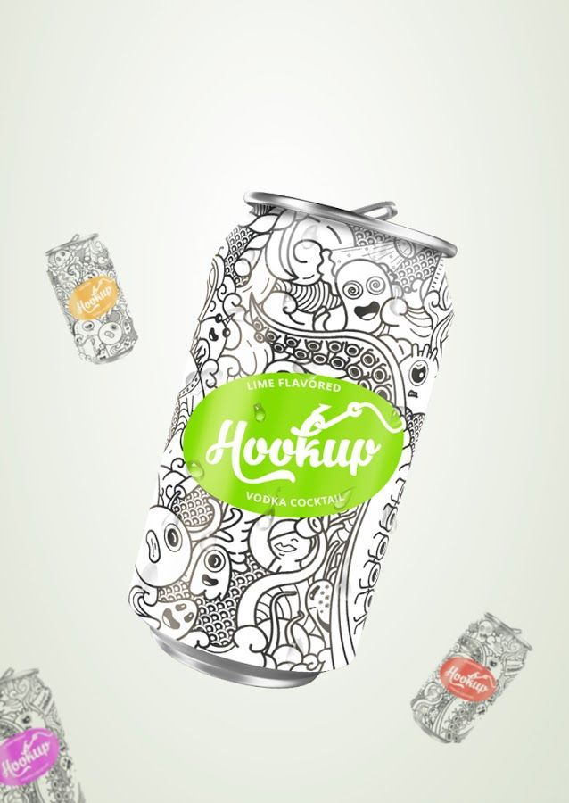 HookUp on Packaging of the World - Creative Package Design Gallery