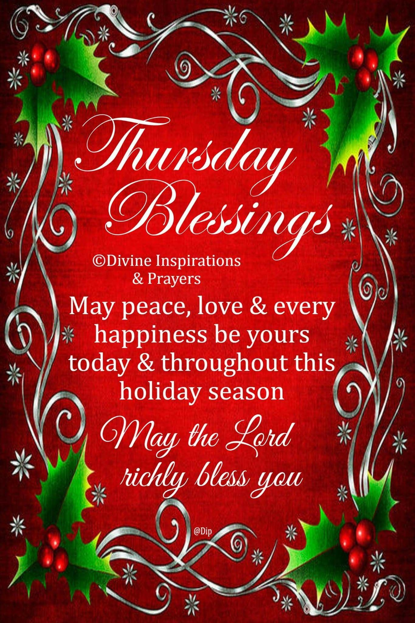 Thursday New Year Blessings Greetings Catds Pinterest Thursday